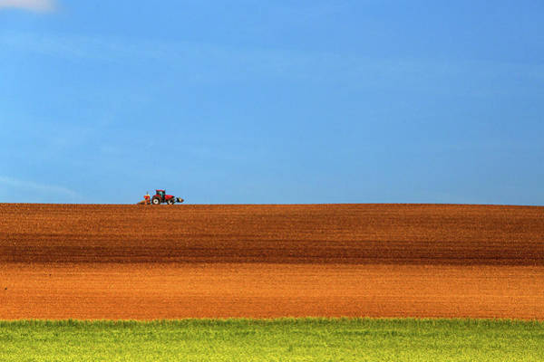 Grow Wall Art - Photograph - The Tractor by Massimo Della Latta