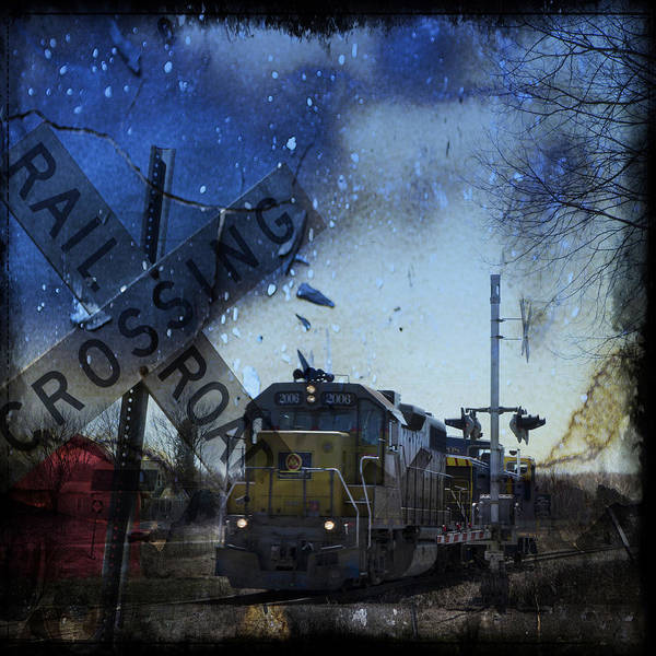 The Train Art Print
