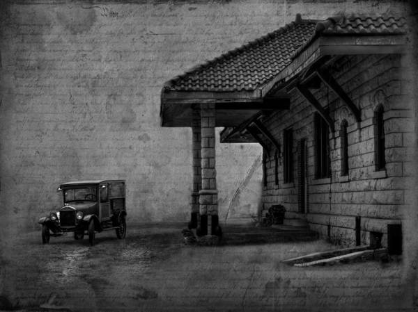 Wall Art - Photograph - The Train Station by Thomas Young