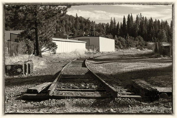 Photograph - The Train Stops Here by Jim Thompson