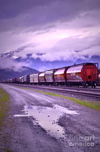 Photograph - The Train by Tara Turner
