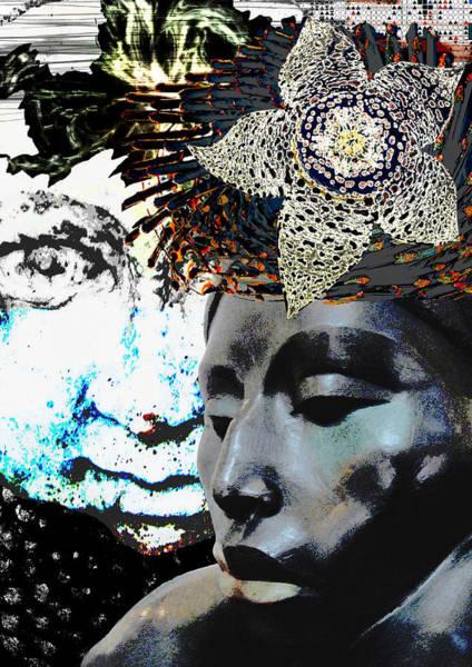 Apparition Digital Art - The Trance by Maria Jesus Hernandez