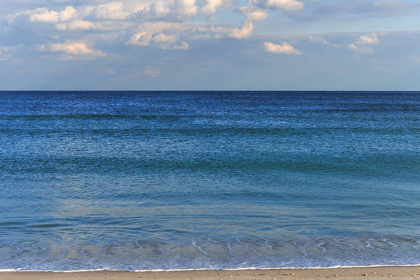 Photograph - The Tranquil Sea Seaside New Jersey by Terry DeLuco
