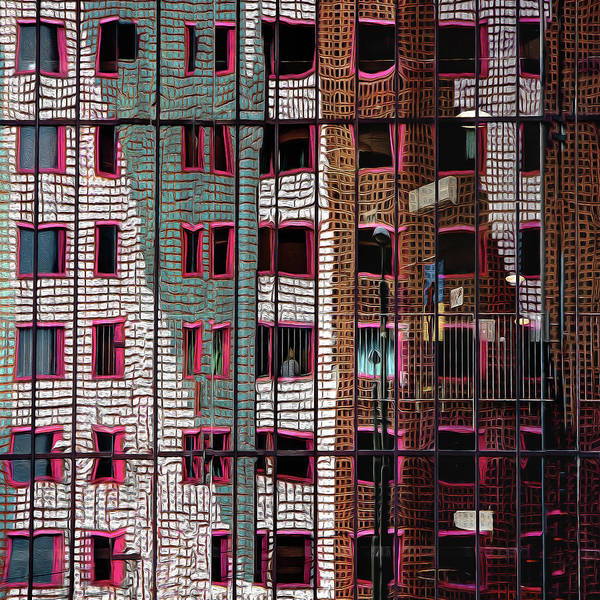 Facade Photograph - The Trapped Illusion by Gilbert Claes