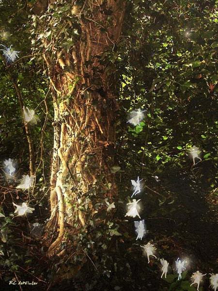 Painting - The Tree Of Dreams by RC DeWinter