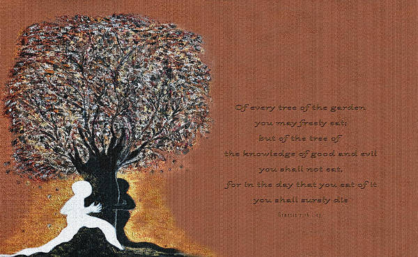 Painting - The Tree Of Knowledge by Donna Proctor
