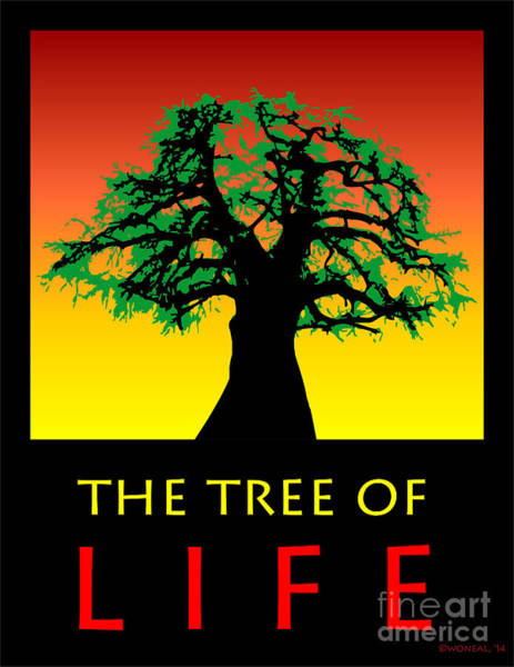 Digital Art - The Tree Of Life by Walter Neal