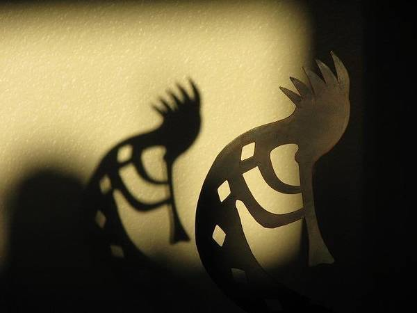 Kokopelli Photograph - The Trickster by John Glass