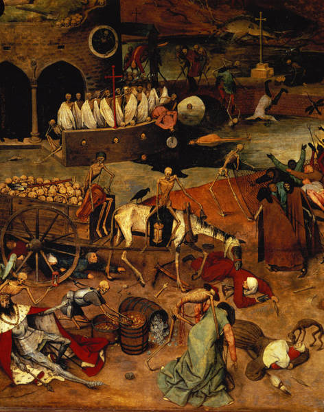 The Elder Painting - The Triumph Of Death by Pieter the Elder Bruegel
