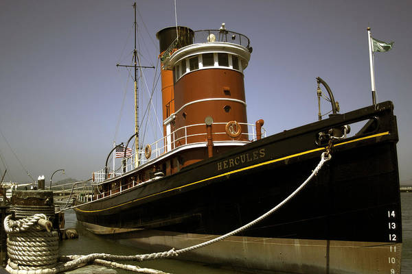 Photograph - The Tug Boat Hercules by William Havle