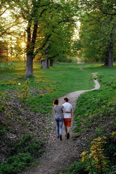 Heterosexual Couple Photograph - The Tunnel Of Love In Western Ukraine by Amos Chapple