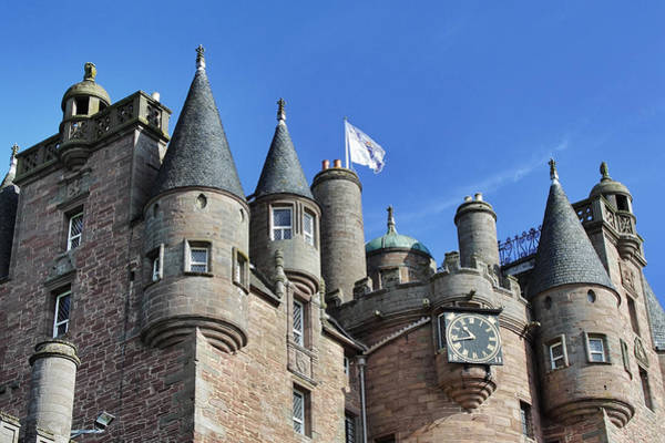 Photograph - The Turrets Of Glamis Castle by Jason Politte