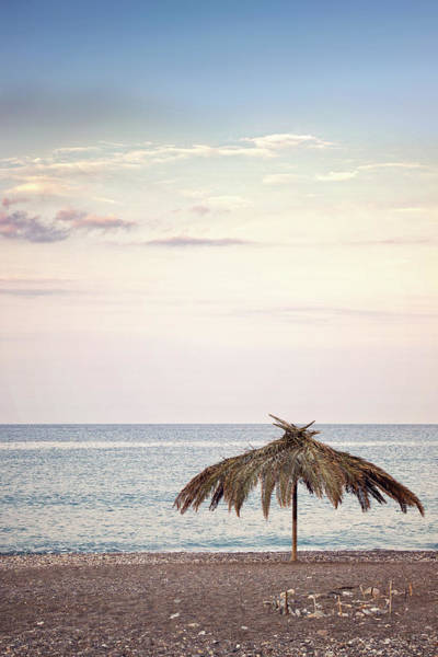 Palapa Wall Art - Photograph - The Umbrella by Owl Stories