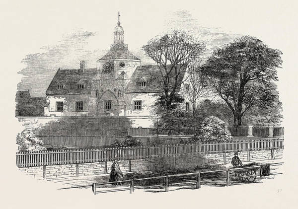 Kings Lynn Wall Art - Drawing - The Union Workhouse At Kings Lynn 1854 by English School
