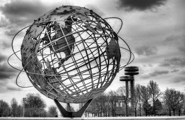 Sphere Photograph - The Unisphere by JC Findley