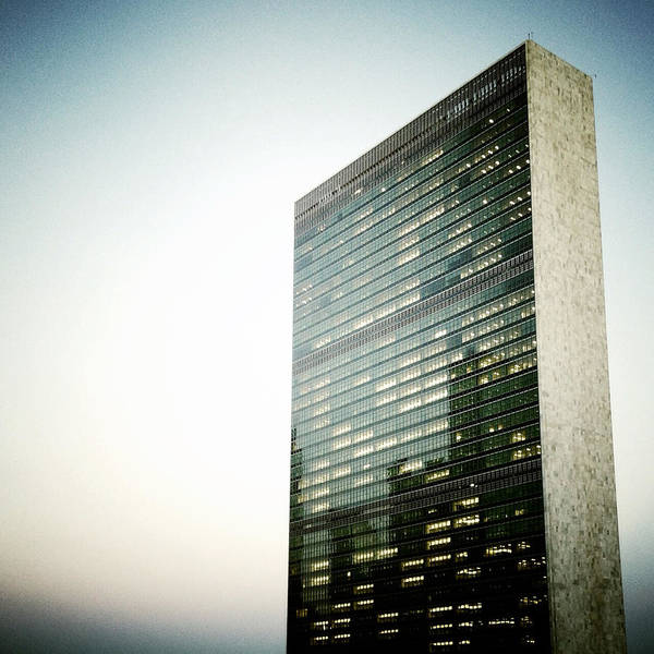 Photograph - The United Nations by Natasha Marco