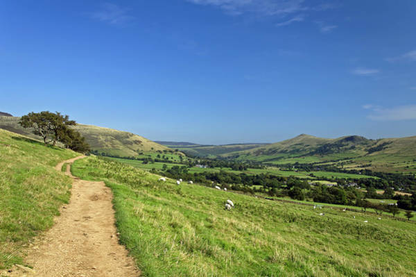 Wall Art - Photograph - The Vale Of Edale From The Pennine Way by Rod Johnson