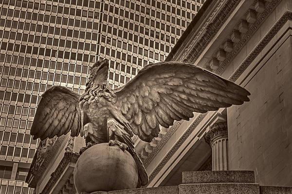 Photograph - The Vanderbilt Eagle  by Susan Candelario
