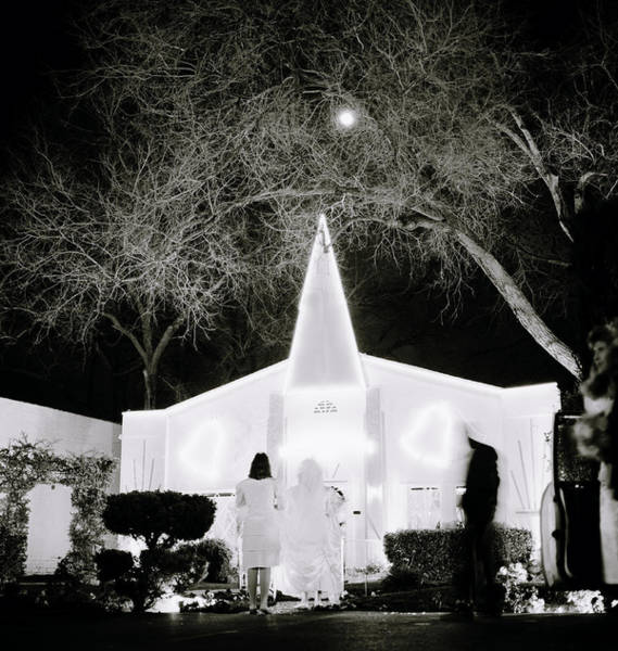 Photograph - Getting Married In Vegas by Shaun Higson
