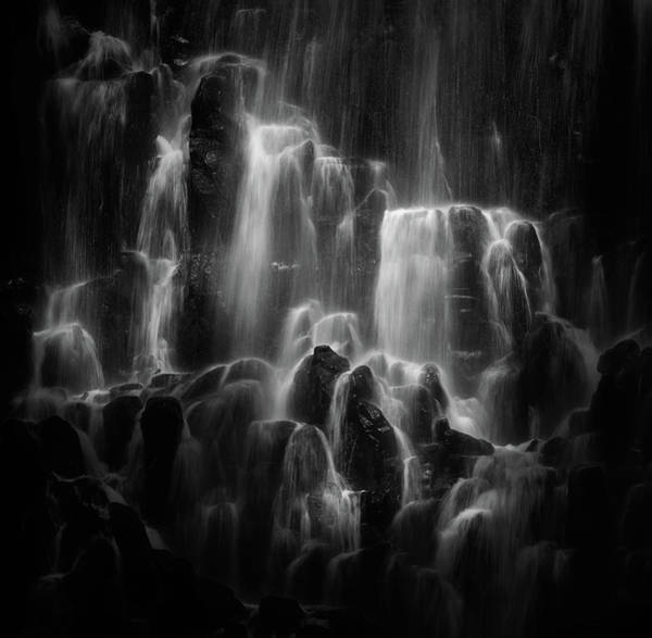 Figure Wall Art - Photograph - The Veiled Beings --- Ramona Falls by Shenshen Dou