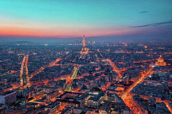 French Quarter Photograph - The Veins Of Paris by Matthias Haker Photography
