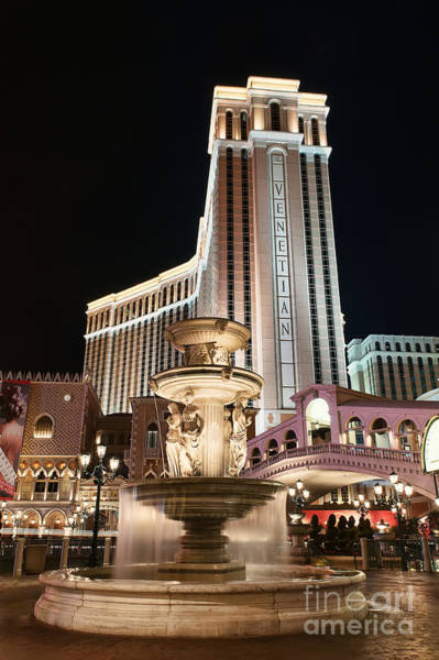 Photograph - The Venetian by Eddie Yerkish