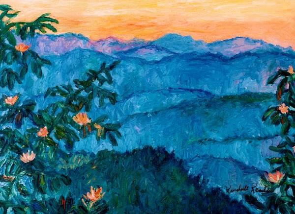 Painting - The Very Blue Ridge by Kendall Kessler