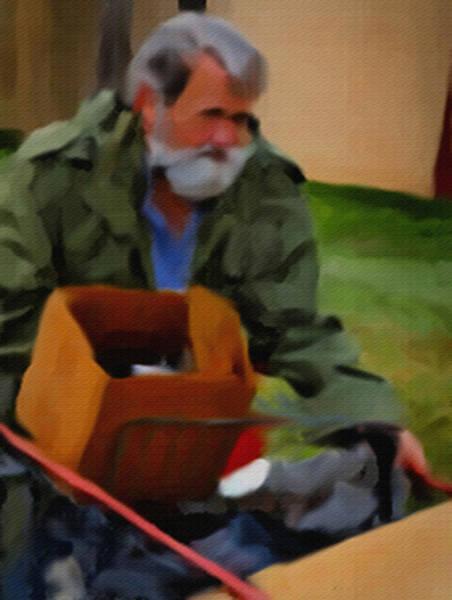 Painting - The Veteran by Dennis Buckman