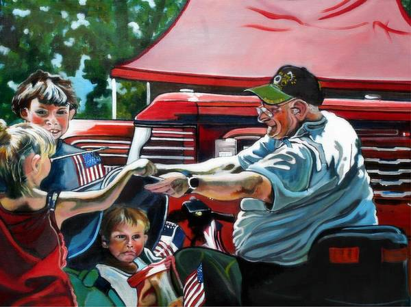 Painting - The Veteran by Stephanie Come-Ryker