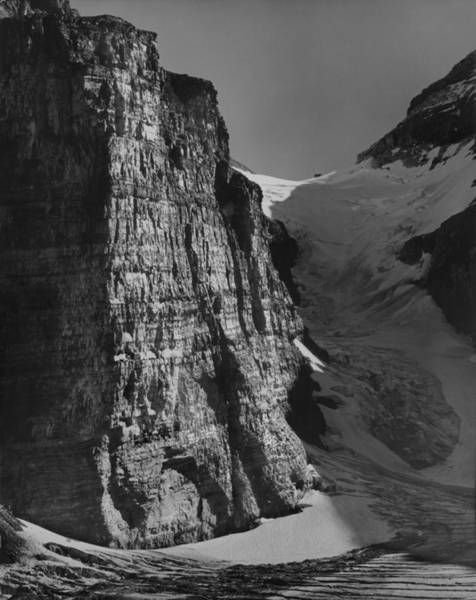 Photograph - 1m3526-the Victoria Glacier And Death Trap by Ed  Cooper Photography