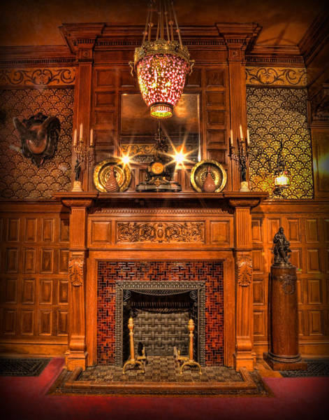 Wall Art - Photograph - The Victorian Fireplace by Lee Dos Santos