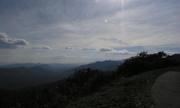 Wall Art - Photograph - The View From Pisgah Parkway by Janis Beauchamp
