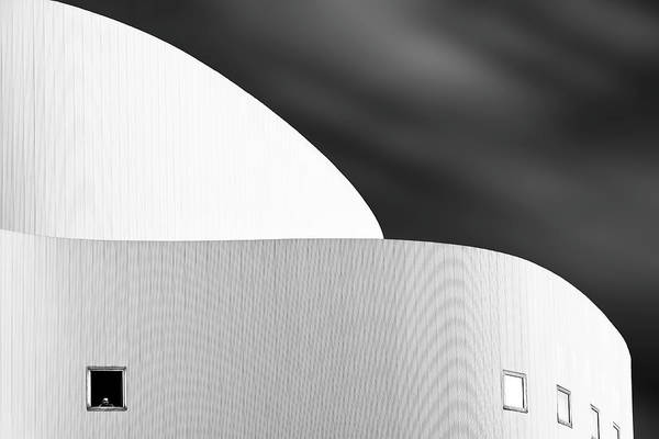 Buildings Wall Art - Photograph - The Viewer by Greetje Van Son