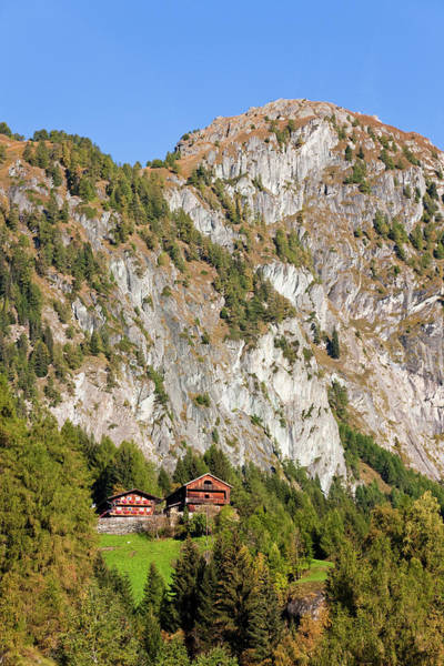 Central Europe Wall Art - Photograph - The Village Hinterbichl In Valley by Martin Zwick