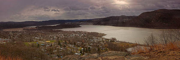Photograph - The Village Of Cold Spring And The Hudson River by Chris Lord