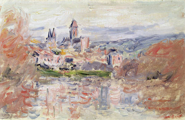Vetheuil Wall Art - Painting - The Village Of Vetheuil by Claude Monet