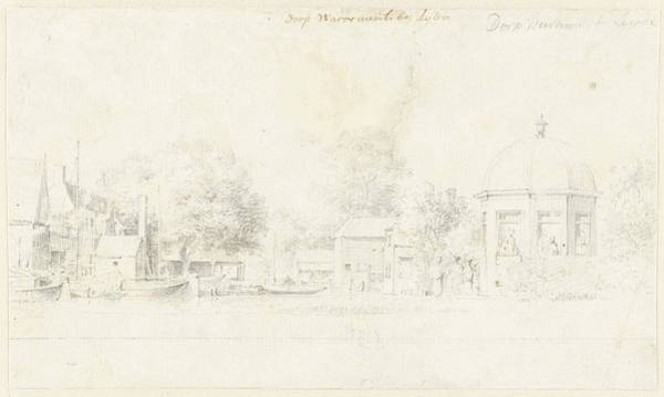 Wall Art - Drawing - The Village Warmond The Netherlands, Cornelis Pronk by Quint Lox