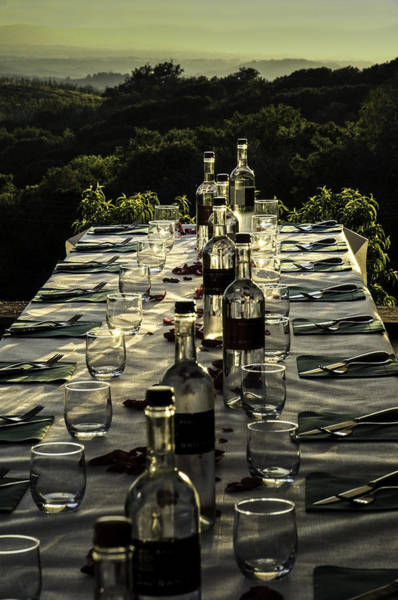 Photograph - The Vintner's Table by Curtis Dale