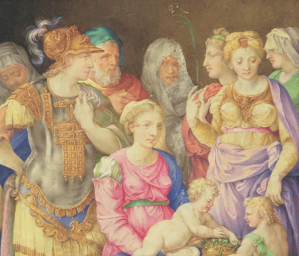 Giulio Painting - The Virgin And Child by Giorgio Giulio Clovio