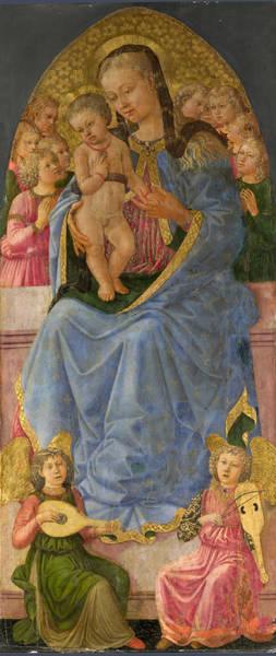 Painting - The Virgin And Child by Zanobi Machiavelli