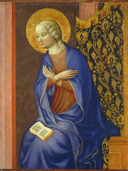 Annunciation Wall Art - Painting - The Virgin Annunciate by Tommaso Masolino da Panicale