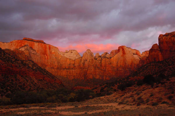Wall Art - Photograph - The Virgin Towers At Sunrise by Stephen  Vecchiotti