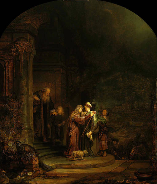Painting - The Visitation by Celestial Images