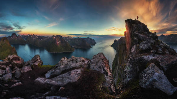Cliff Photograph - The Vista by Dr. Nicholas Roemmelt