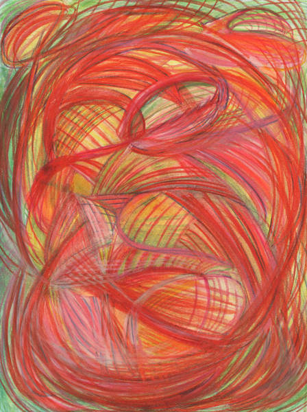 Mixed Colors Drawing - The Voice Of Daring-vertical by Kelly K H B