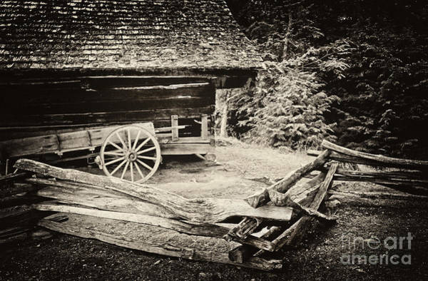 Wall Art - Photograph - The Wagon by Paul W Faust -  Impressions of Light