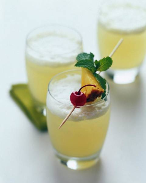 Alcoholic Drink Photograph - The Wahine Cocktail by Romulo Yanes