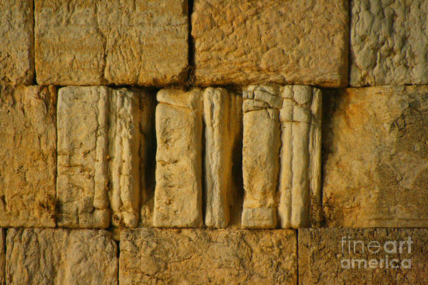 Photograph - The Western Wall  by Doc Braham