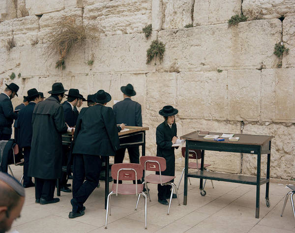 Photograph - The Wailing Wall by Shaun Higson