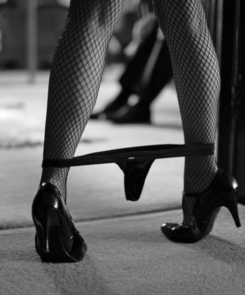 Erotic Photograph - The Waiting Game by John Silver
